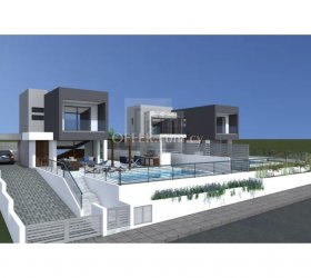 Brand new three bedroom modern detached house in Parekklisia - 15116