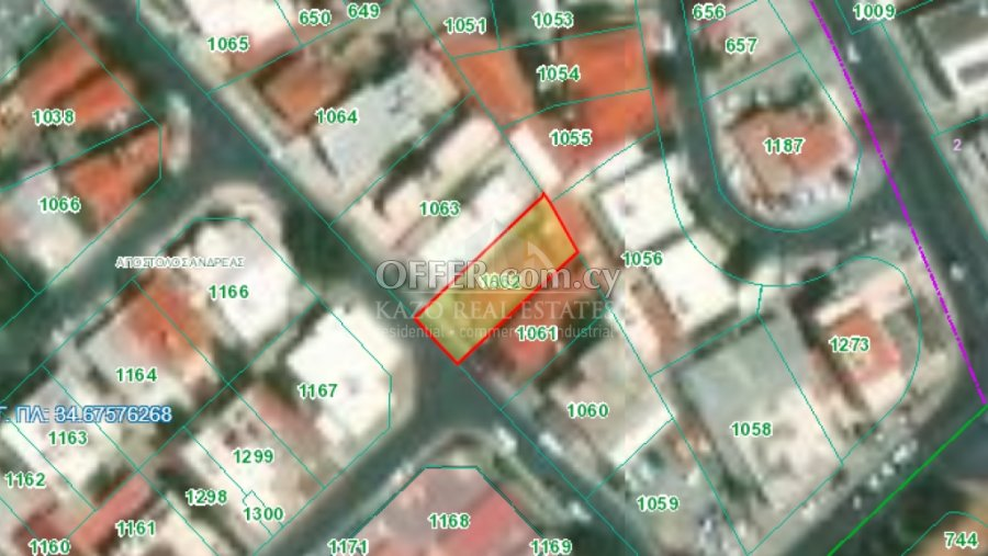 Plot Residential in Apostolos Andreas Limassol - 2