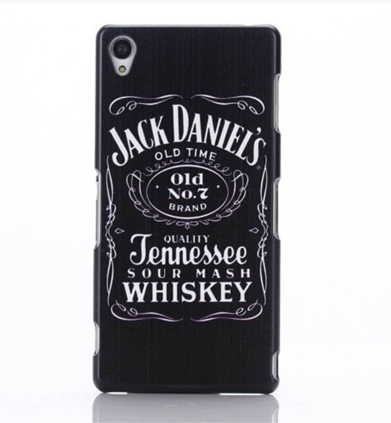 Hard Case for Sony Xperia Z2 Back Cover Jack Daniels - 1