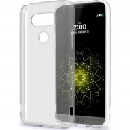 LG G5 Silicon Case Transparent Soft TPU Gel Back Cover Clear - 1