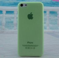 Slim Matte Transparent Back Cover For iPhone 5c 0.3mm Ultra Thin Color - 1