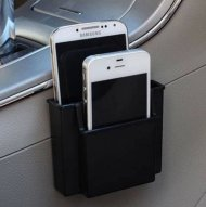 Multifunctional Car Mobile Phone Holder Charge Box Pocket Organizer Se - 1