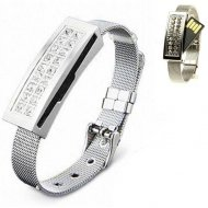 Diamond Bracelet Usb Flash Drive 16GB jewelry Silver  Gift Box