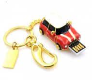 Mini Cooper Car Shape Usb Flash Drive 16GB memory stick Red