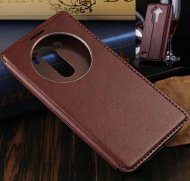Luxury Window View Wallet PU Leather Flip Case Cover Stand For LG G3 - 1
