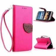 Dual Color Hot Leaf Case for HTC One M9 Pink - 1