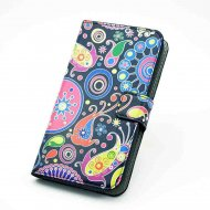 Flip Case for Samsung Galaxy S5 mini g800 Jelly Fish Black