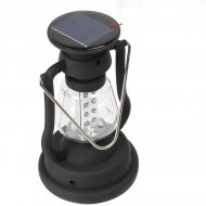 Super Bright Outdoor 16 LEDs Solar Panel Hand Crank Dynamo Lamp Campin - 1