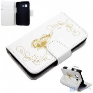Flip Case for Samsung Galaxy Young 2 Butterfly White - 1