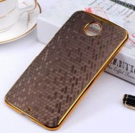 Hard Case for Motorola Nexus 6 Diamond Back Cover GoldBrown