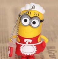 Despicable Me Minions Red Maid Waitress minion Cartoon 8GB USB Flash D