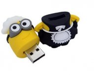 Despicable Me Minions Maid Waitress minion Cartoon 16GB USB Flash Driv - 1