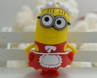 Despicable Me Minions Red Maid Waitress minion Cartoon 4GB USB Flash D