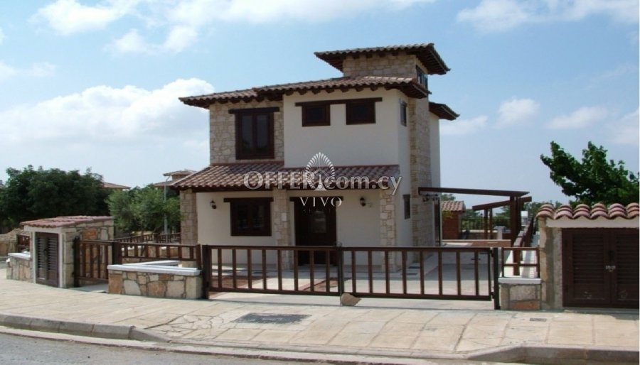 ON CONSTRUCTION 3 BEDROOM FAMILY HOUSE IN A PLOT OF 440m2 - 1