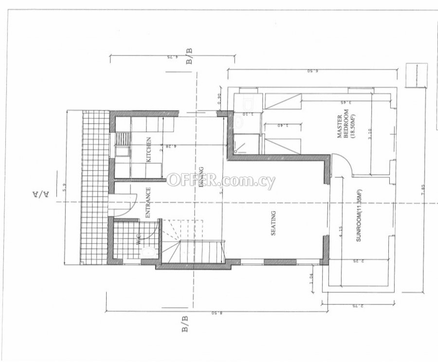 ON CONSTRUCTION 3 BEDROOM FAMILY HOUSE IN A PLOT OF 440m2 - 3