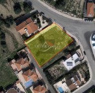 Residential plot of 1356sqm in Erimi area