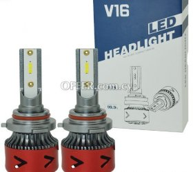 Led headlights for cars and motorcycles