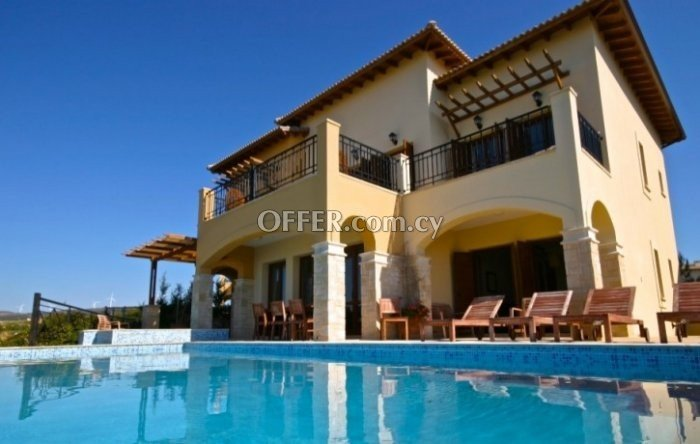 Five bedroom villa for sale in Aphrodite hills kouklia - 9