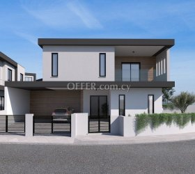 For sale under construction houses above the high way of Agios Athanasios
