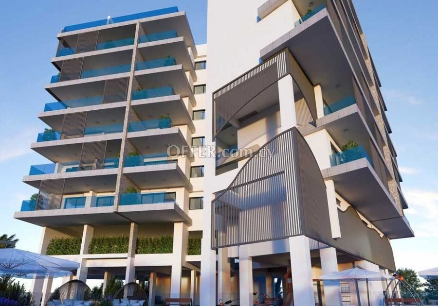 Modern, elite 4 bedroom apartment with huge terraces in Agia Zoni - 1