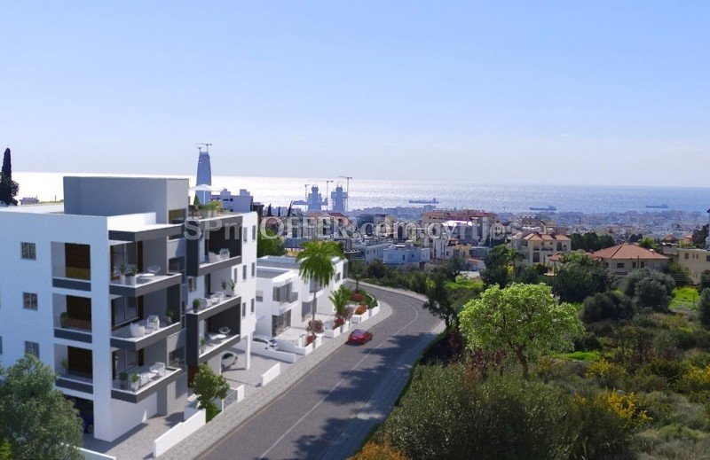 Two bedroom Apartment with unopstructed view and RoofGarden in AgiosAthanasios Limassol - 2