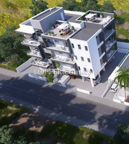 Two bedroom Apartment with unopstructed view and RoofGarden in AgiosAthanasios Limassol - 3