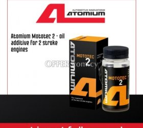 Atomium Mototec 2 - oil additive for 2 stroke engines