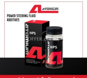 Atomium HPS - hydraulic oil additive to remove power steering noise