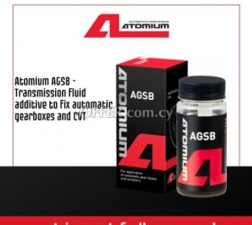 Atomium AGSB - Transmission fluid additive to fix automatic gearboxes and CVT