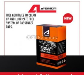 Atomium SGA - gasoline additive to clean up and lubricate pumps and injectors
