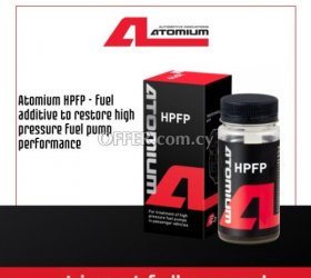 Atomium HPFP - fuel additive to restore high pressure fuel pump performance