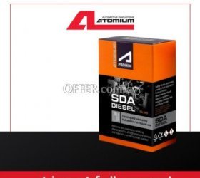 Atomium SDA - diesel fuel additive to clean up and lubricate pumps and injectors