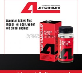 Atomium Active Plus Diesel - oil additive for old diesel engines