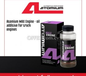 Atomium MAX Engine - oil additive FOR TRUCK engines