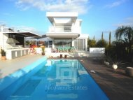 Luxury detached four bedroom villa with modern architecture and private swimming pool