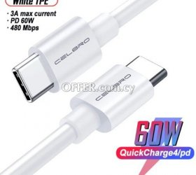 Type C to Type C Cable Charge & Sync 1M