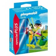 [4008789053794] Playmobil 5379 Window Cleaner Toy
