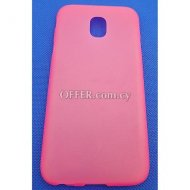 [4052335031941] Samsung J3 2017 J330 Silicone Pink Back Cover 5