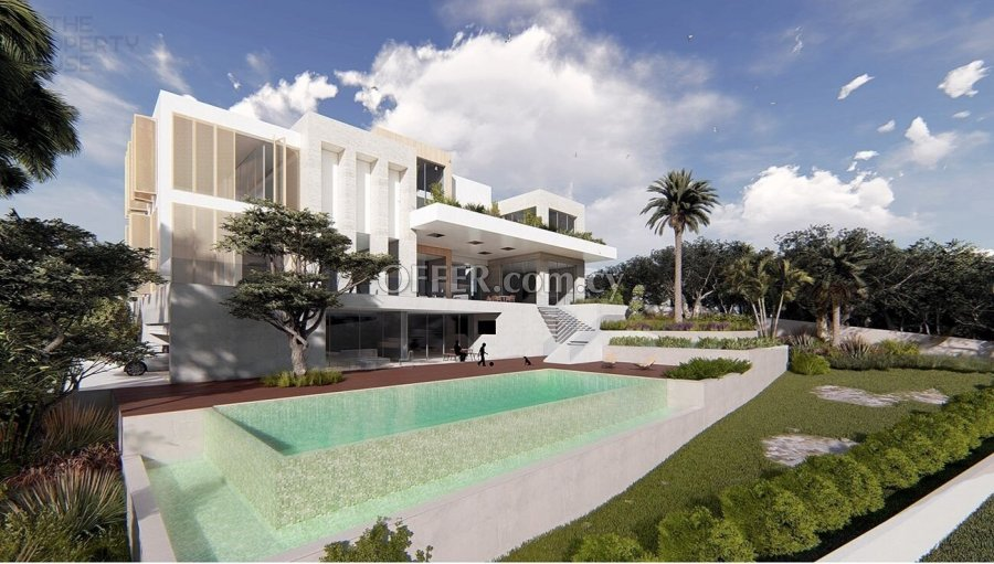 Massive Luxurious Five Bedroom Villa - Germasogeia - 2