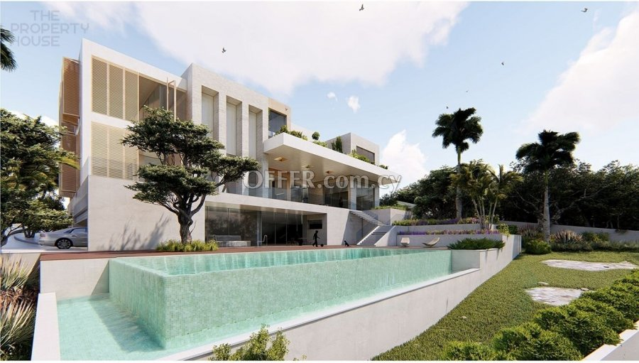 Massive Luxurious Five Bedroom Villa - Germasogeia - 3