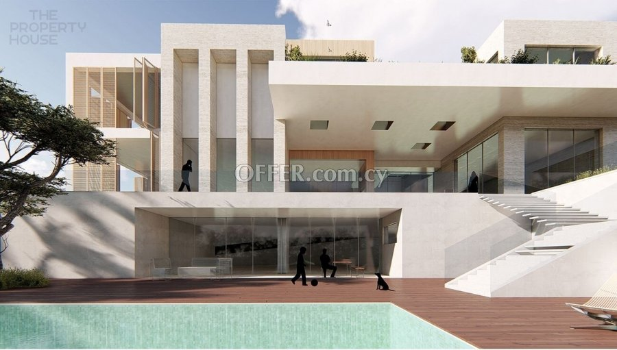 Massive Luxurious Five Bedroom Villa - Germasogeia - 5